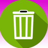 Visuel représentant une poubelle